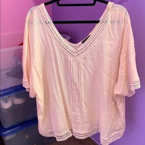 Pretty shirt with lots of lace details
